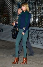 TAYLOR SWIFT Leaves a Gym in New York