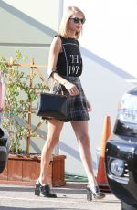 TAYLOR SWIFT Leaves a Studio in Los Angeles 2211