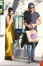 VANESSA HUDGENS and Austin Butler Shopping at Whole Foods in Los Angeles