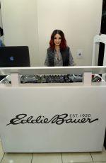 VANESSA HUDGENS at Eddie Bauer Store Opening in New York