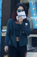 VANESSA HUDGENS in Tights Out and About in Studio City 2011