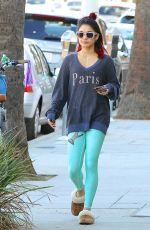 VANESSA HUDGENS Leaves a Gym in Los Angeles 0411