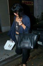 VANESSA HUDGENS Leaves Nine Zero One Salon in West Hollywood 2011
