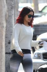 VANESSA HUDGENS Out and About in Beverly Hills 1411