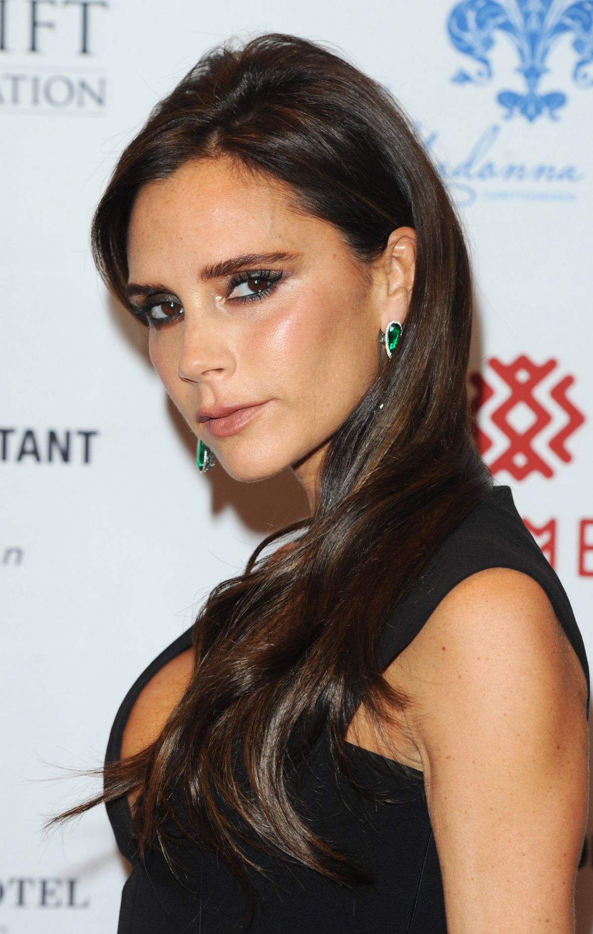 VICTORIA BECKHAM at Global Gift Gala in London – HawtCelebs