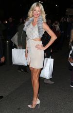 VICTORIA SILVSTEDT at Topshop Topman Opening Dinner in New York