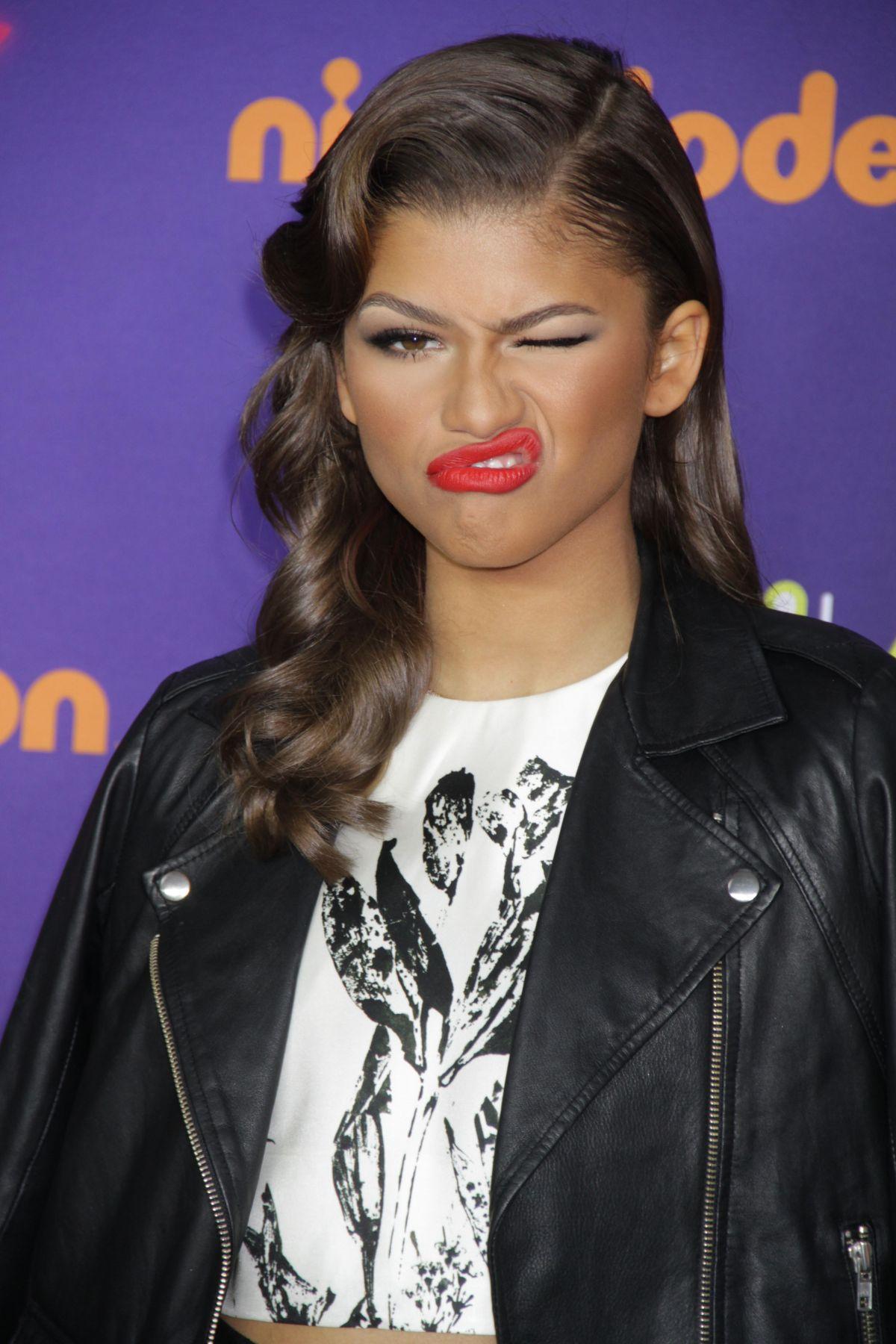 ZENDAYA COLEMAN at Nickelodeon Halo Awards 2014 in New York