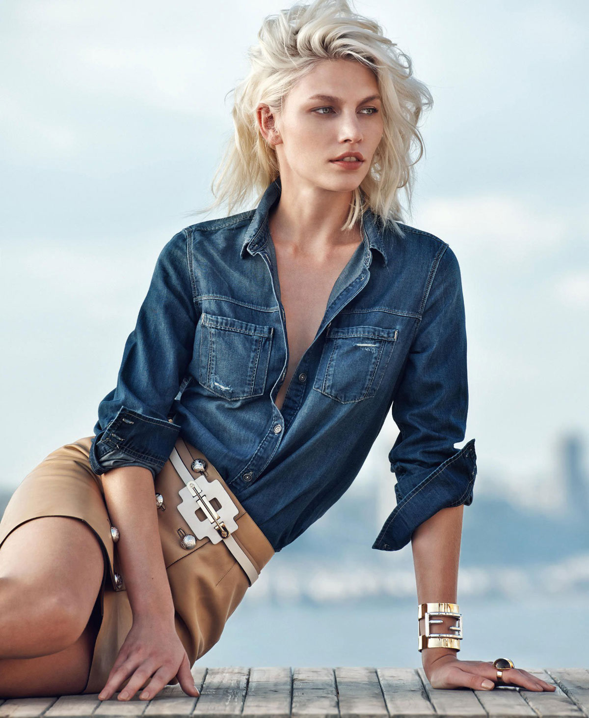 ALINE WEBER – Porter Magazine Photoshoot by Chris Colls