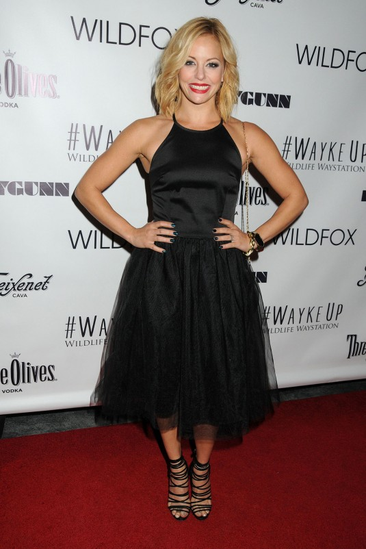 AMY PAFFRATH at Wayke Up Fundraiser
