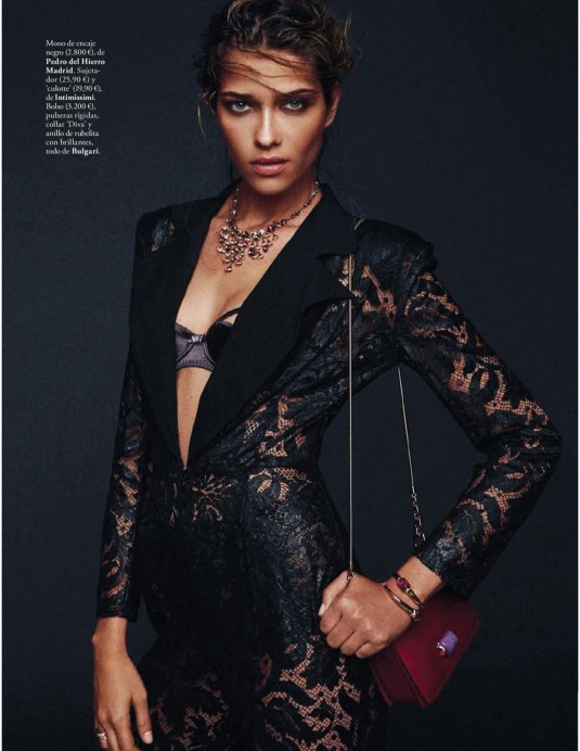ANA BEATRIZ BARROS in Elle Magazine