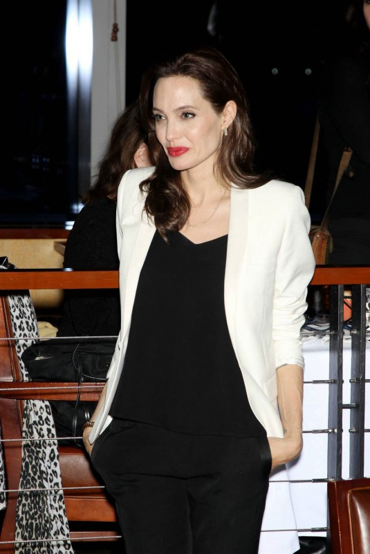 ANGELINA JOLIE at Unbroken Special Screening