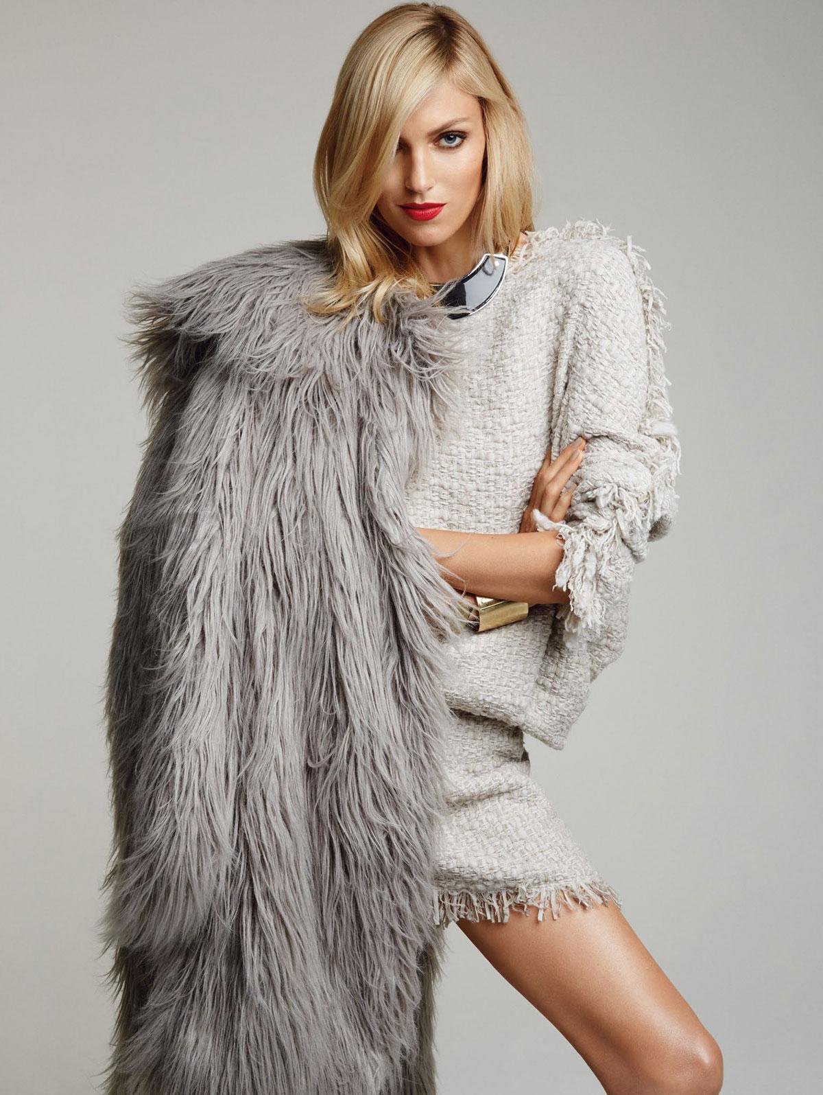 ANJA RUBIK Vogue Magazine Photoshoot By Patrick