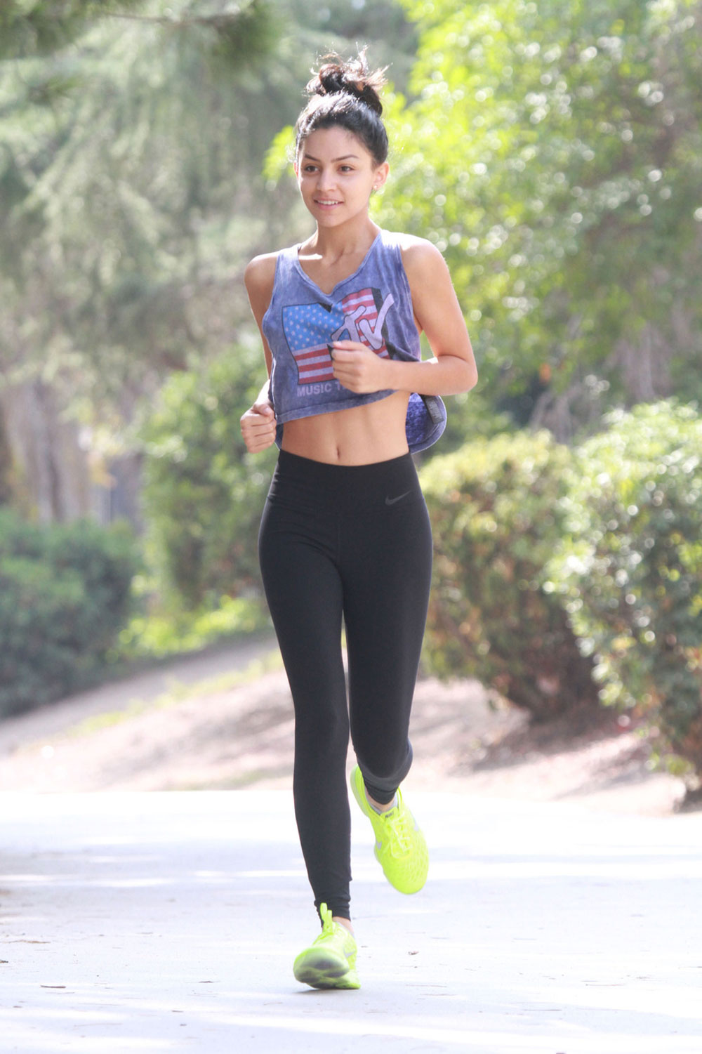 Bianca Santos Out Jogging In Los Angeles Hawtcelebs