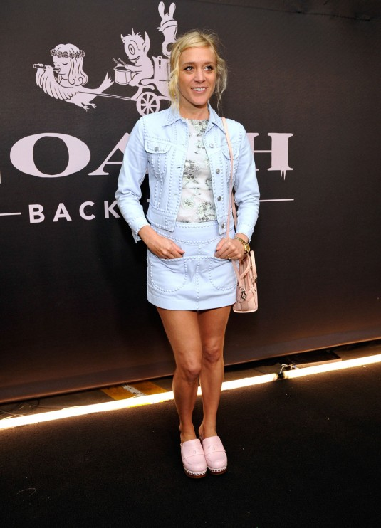CHLOE SEVIGNY at Coach Rodeo Drive Store Cocktail