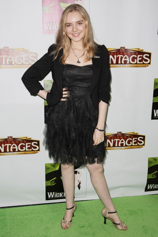 DARCY ROSE BYRNES at Wicked Opening Night