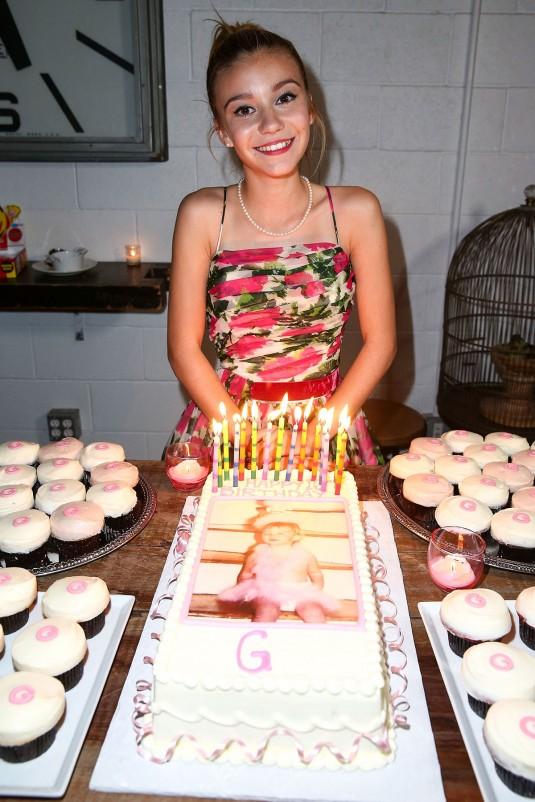 Genevieve Hannelius at Her Birthday