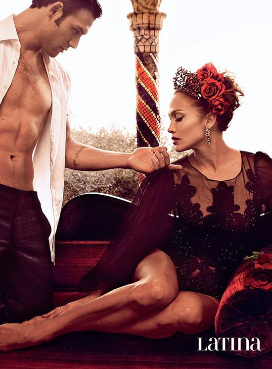 Jennifer Lopez In Latina Magazine Febraury 2015 Issue