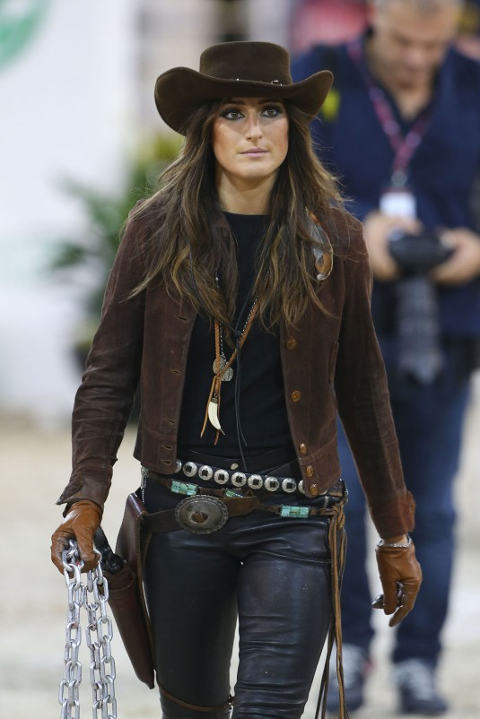 JESSICA SPRINGSTEEN at Gucci Masters