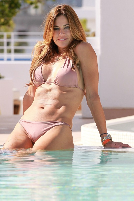 Kelly Bensimon in White Bikini in Miami Pic 9 of 35