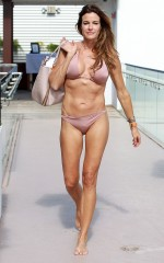 Kelly bensimon in bikini at a photoshoot in miami beach hawtcelebs
