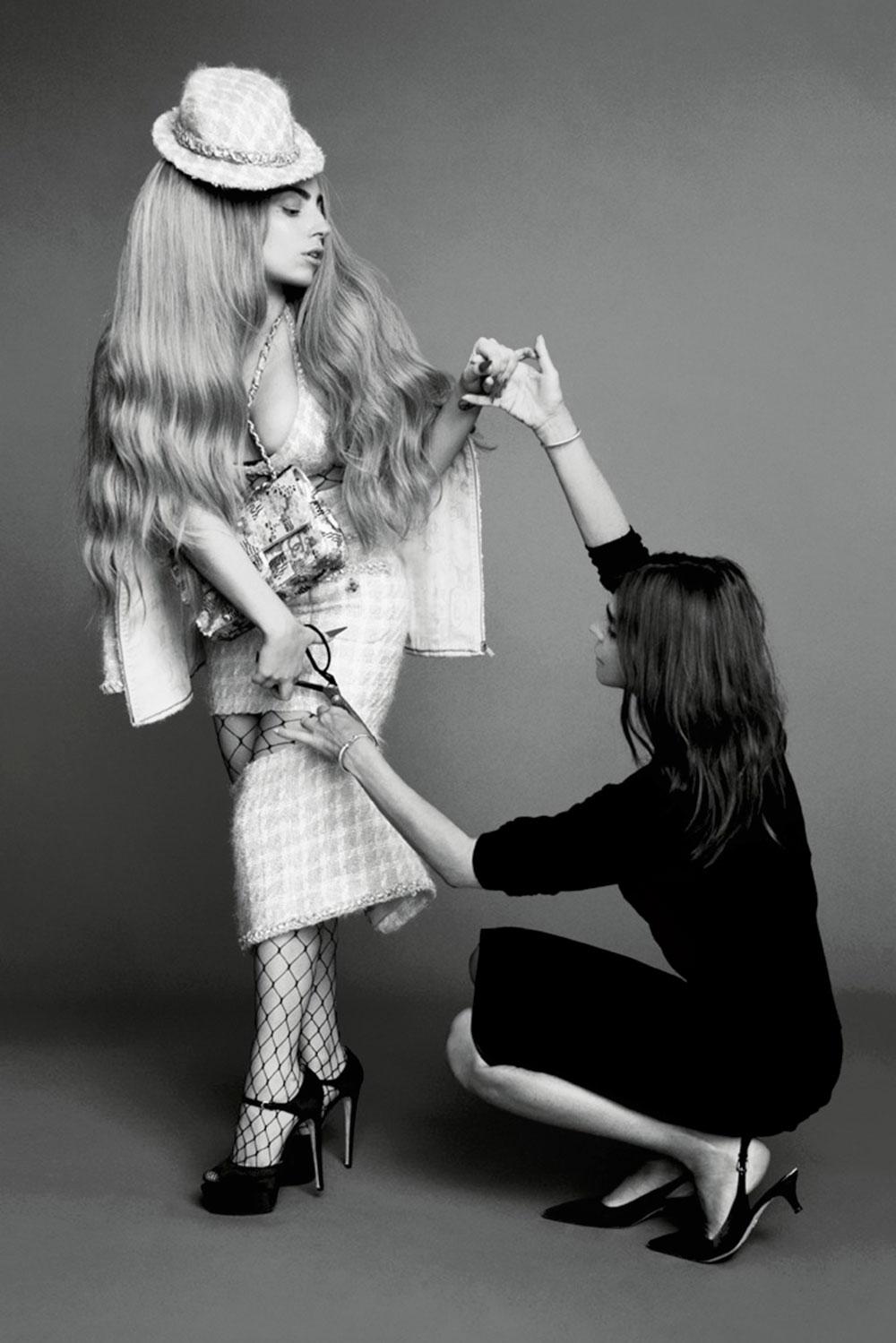 LADY GAGA - Harpers Bazaar Magazine Photoshoot by