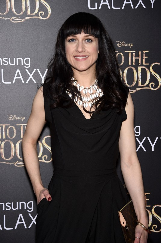 LENA HALL at Into the Woods Premiere