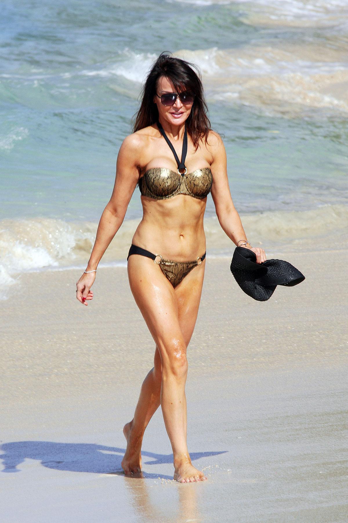 Lizzie cundy bikini