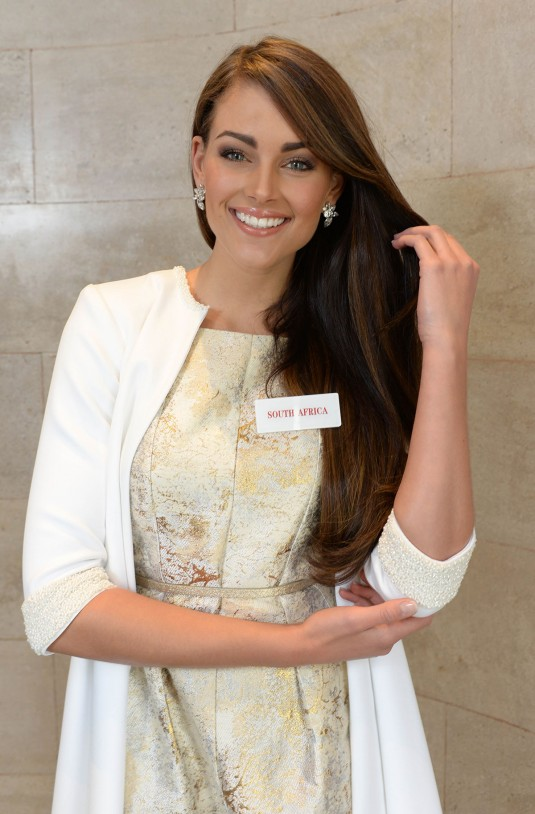 ROLENE STRAUSS - Miss South Africa 2014