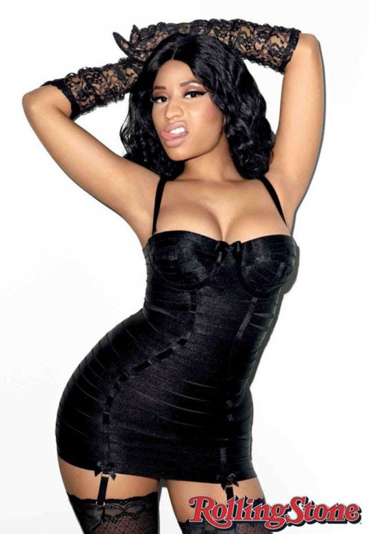 NICKI MINAJ in Rolling Stone Magazine, January 2015 Issue