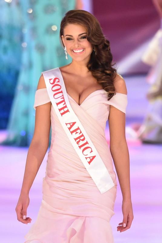 Miss South Africa ROLENE STRAUSS - Miss World 2014