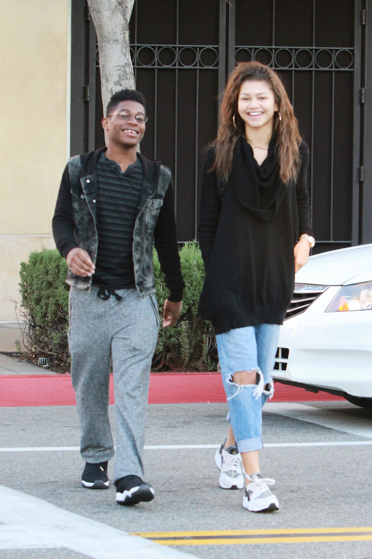 ZENDAYA COLEMAN Out and About in Los Angeles – HawtCelebs