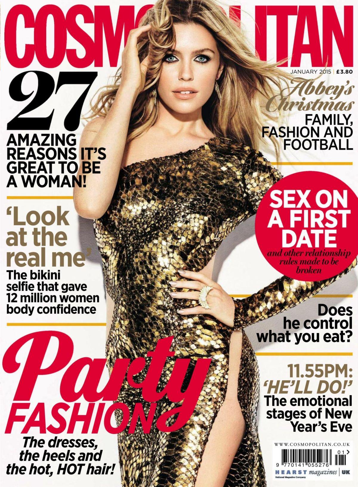 ABIGAIL ABBEY CLANCY in Cosmopolitan Magazine, January 2015 Issue
