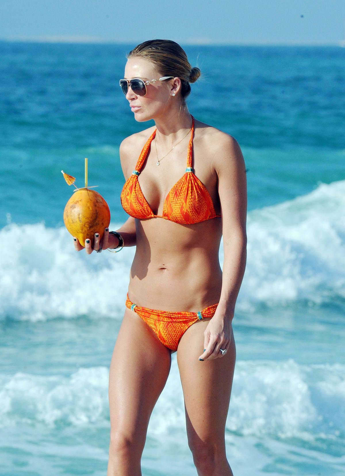 ALEX GERRARD in Bikini at a Beach in Dubai 1212