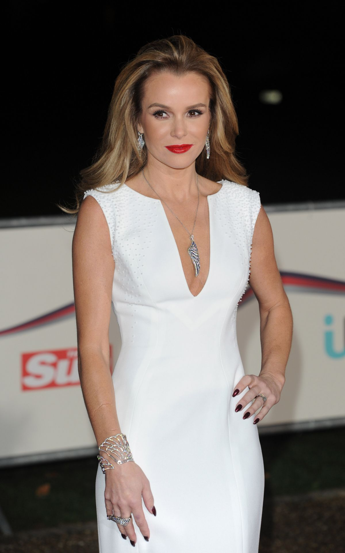 AMANDA HOLDEN at A Night of Heroes: The Sun Military Awards in London