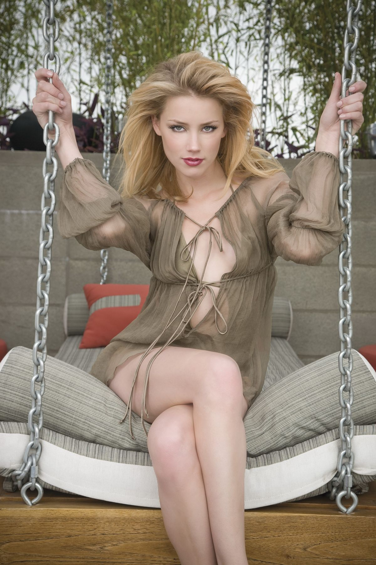 AMBER HEARD - Saturday Night Magazine 2008 Photoshoot by Bobby Quillard