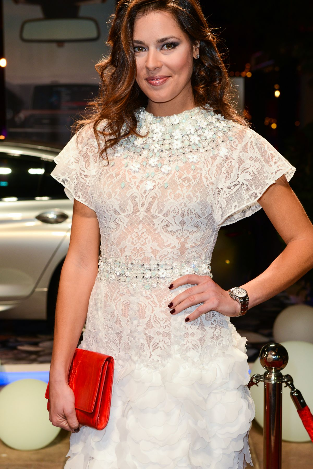 ANA IVANOVIC at 11th Dubai International Film Festival Opening Night