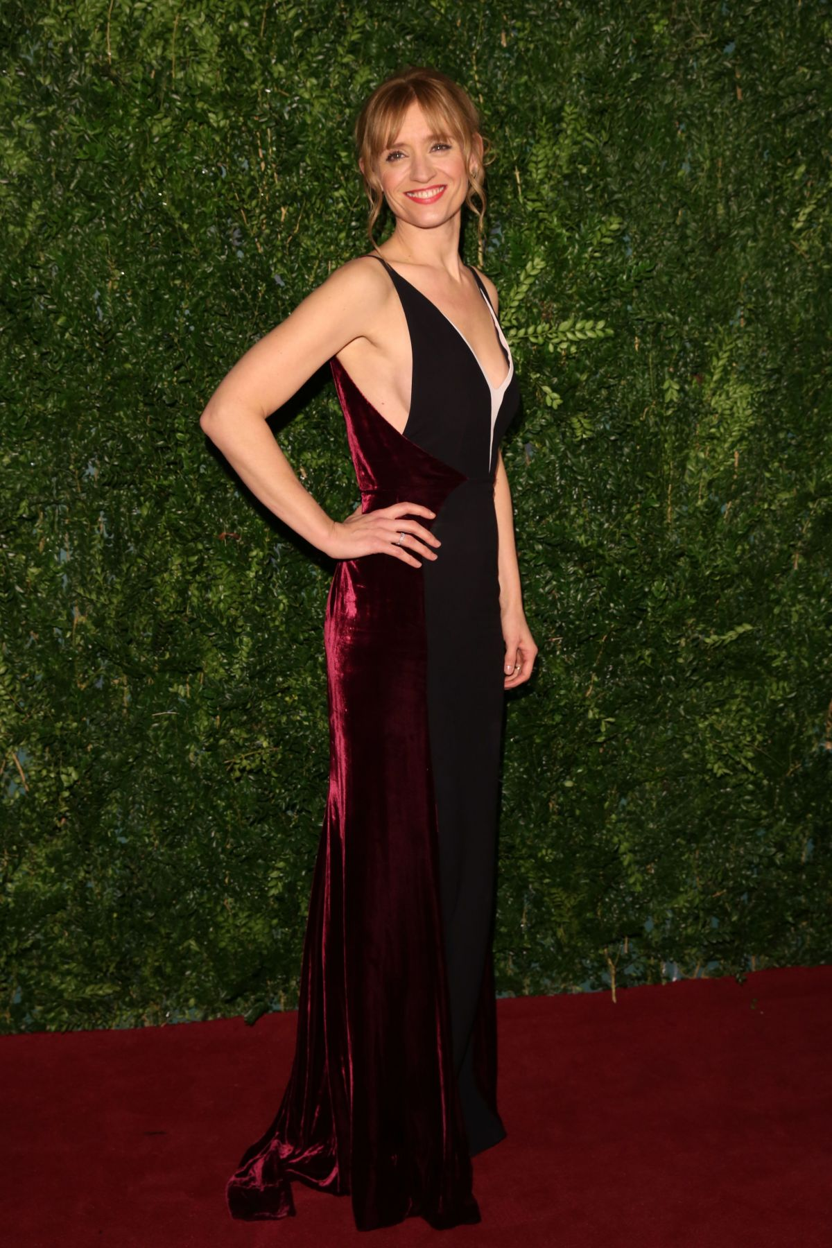 ANN MARIE DUFF at 2014 London Evening Standard Theatre Awards