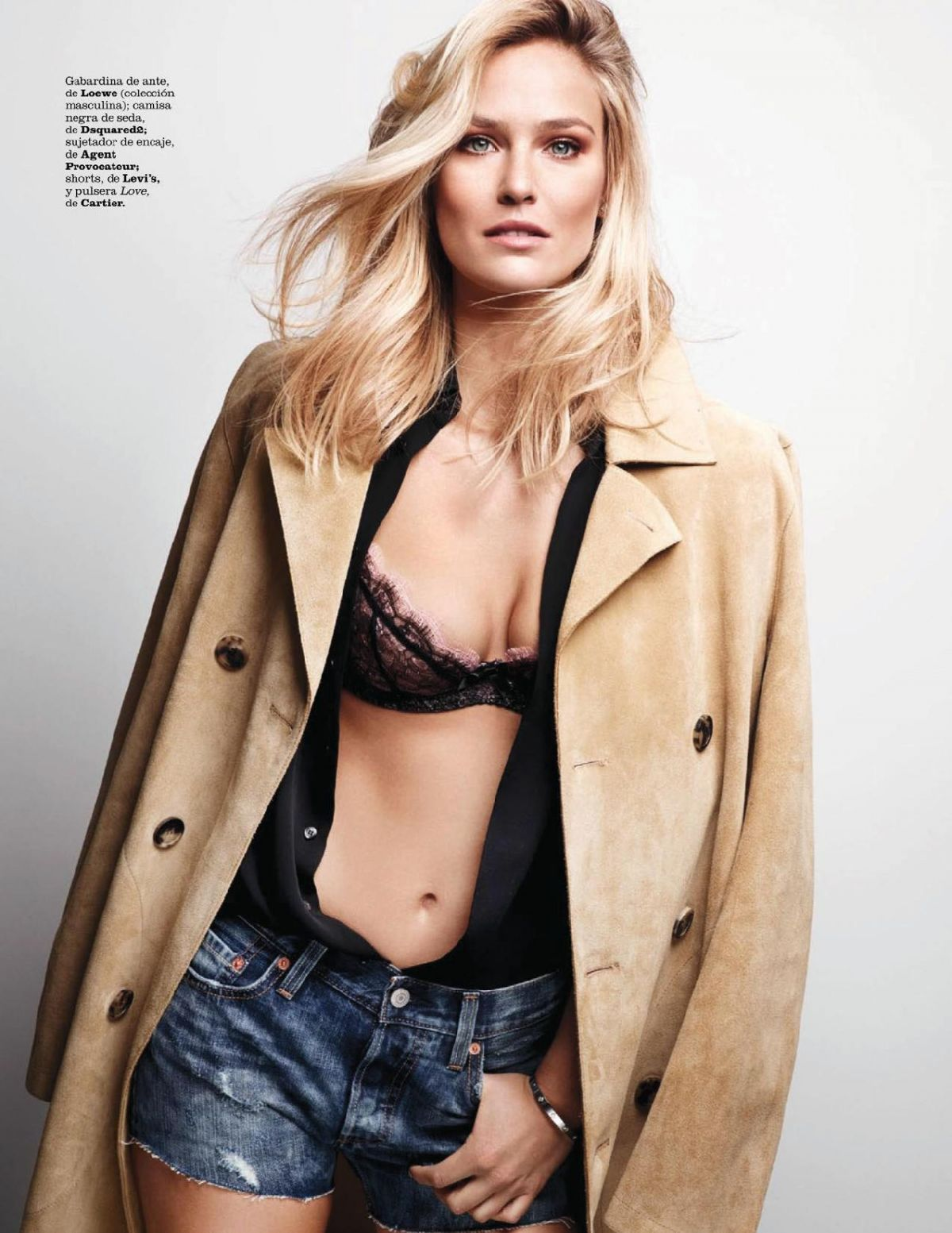 bar refaeli in marie claire magazine spain january 2015 issue hawtcelebs. Black Bedroom Furniture Sets. Home Design Ideas