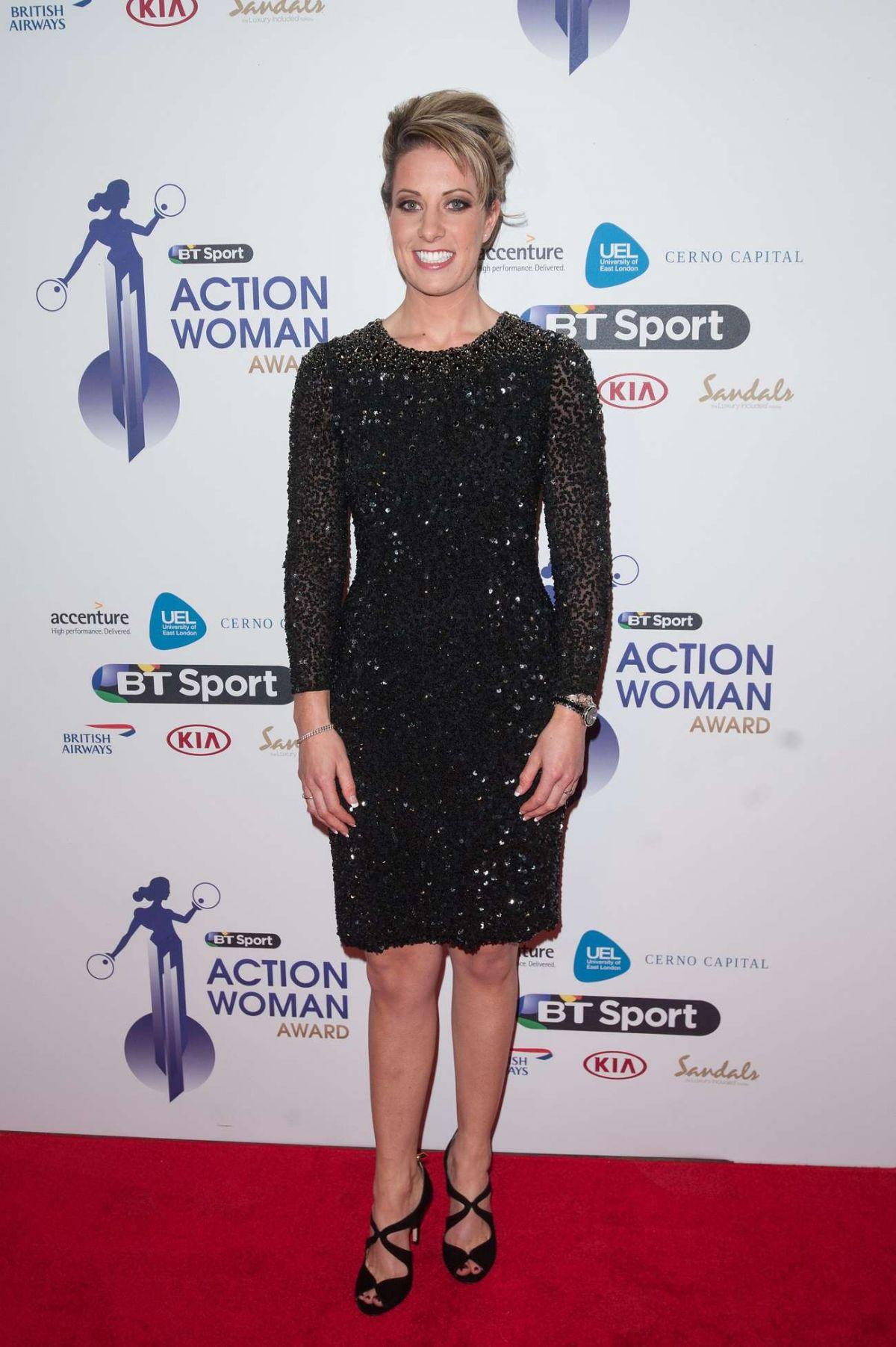 CHARLOTTE DUJARDIN at BT Sport Action Woman Awards