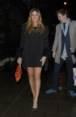 CHESKA HULL at Night with Nick in London