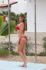 CHLOE SIMS in Bikini at a Pool in Cape Verde