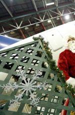 CIARA BRAVO at 2014 Holiday in the Hangar in New York