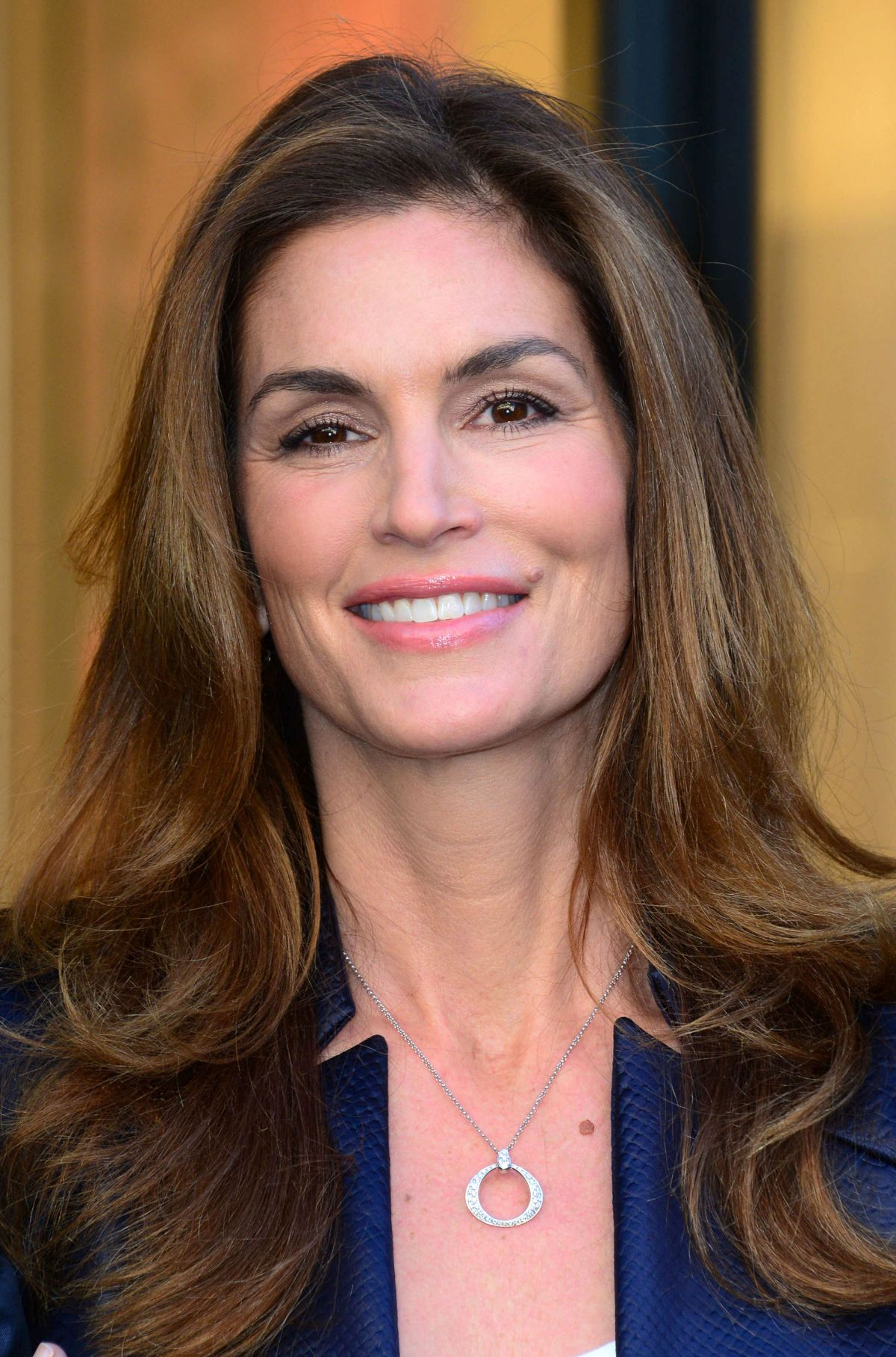 Cindy Crawford S Daughter Talks: CINDY CRAWFORD At Omega Oxford Street Flagship Boutique