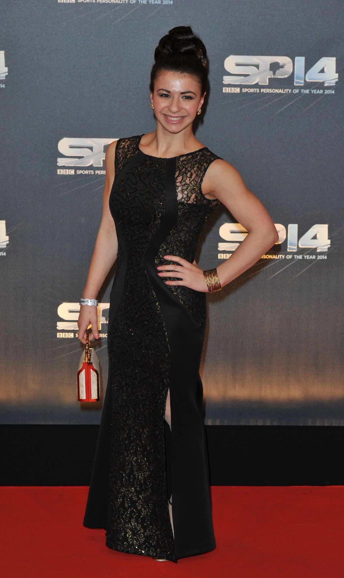 CLAUDIA FRAGAPANE at BBC Sports Personality of the Year Awards in Glasgow