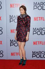CLAUDIA KIM at Marco Polo Premiere in New York
