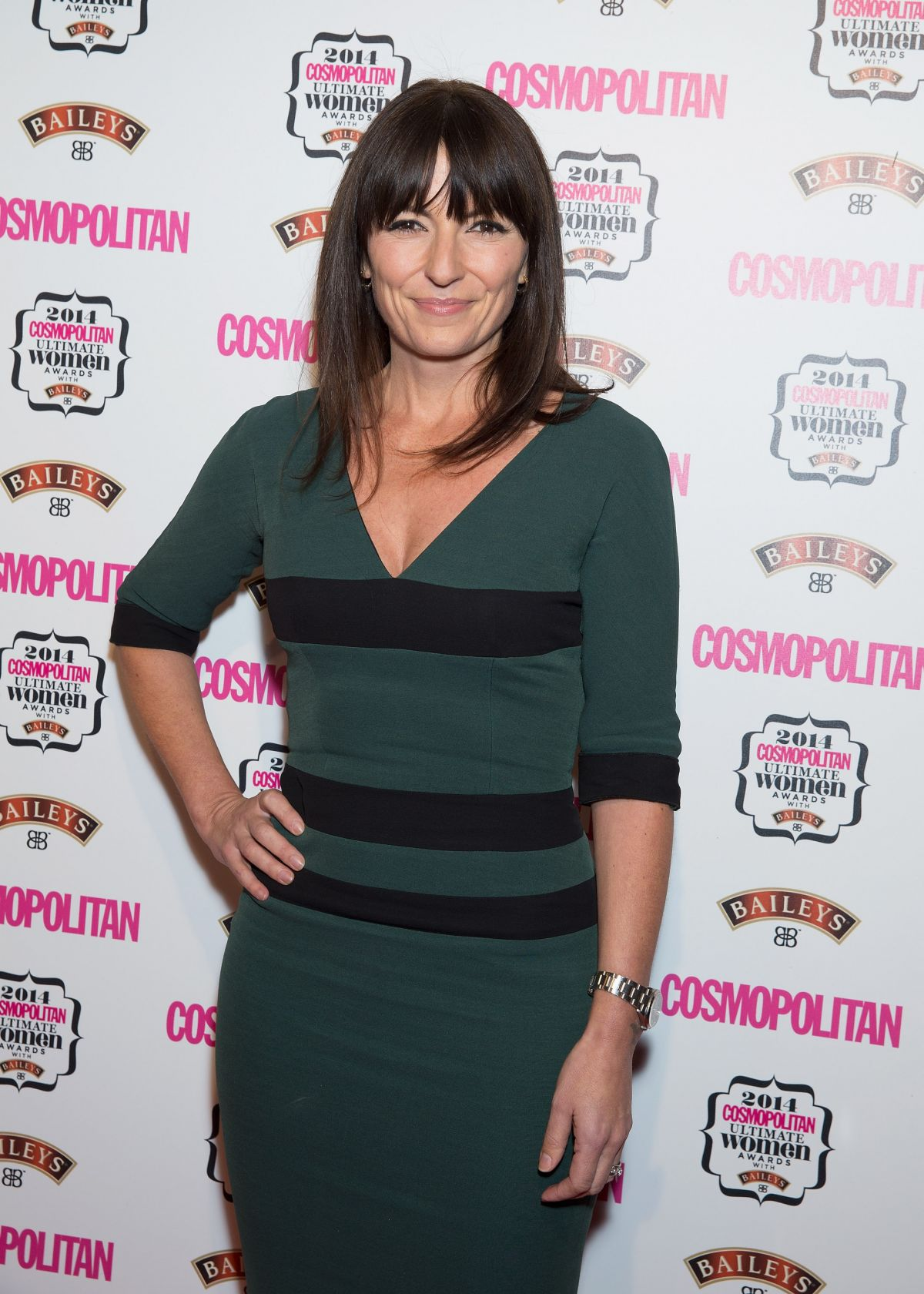 DAVINA MCCALL at Cosmopolitan Ultimate Women Awards 2014 in London
