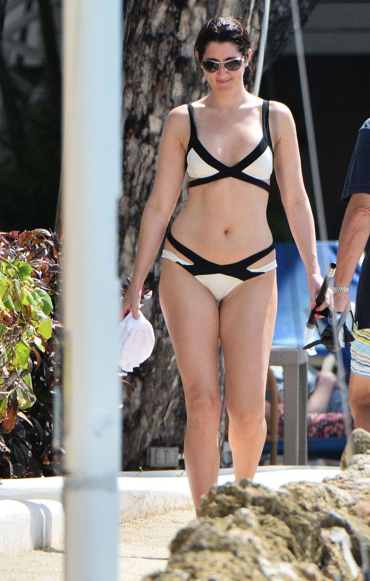 DEBORAH BARR in Bikini in Barbados