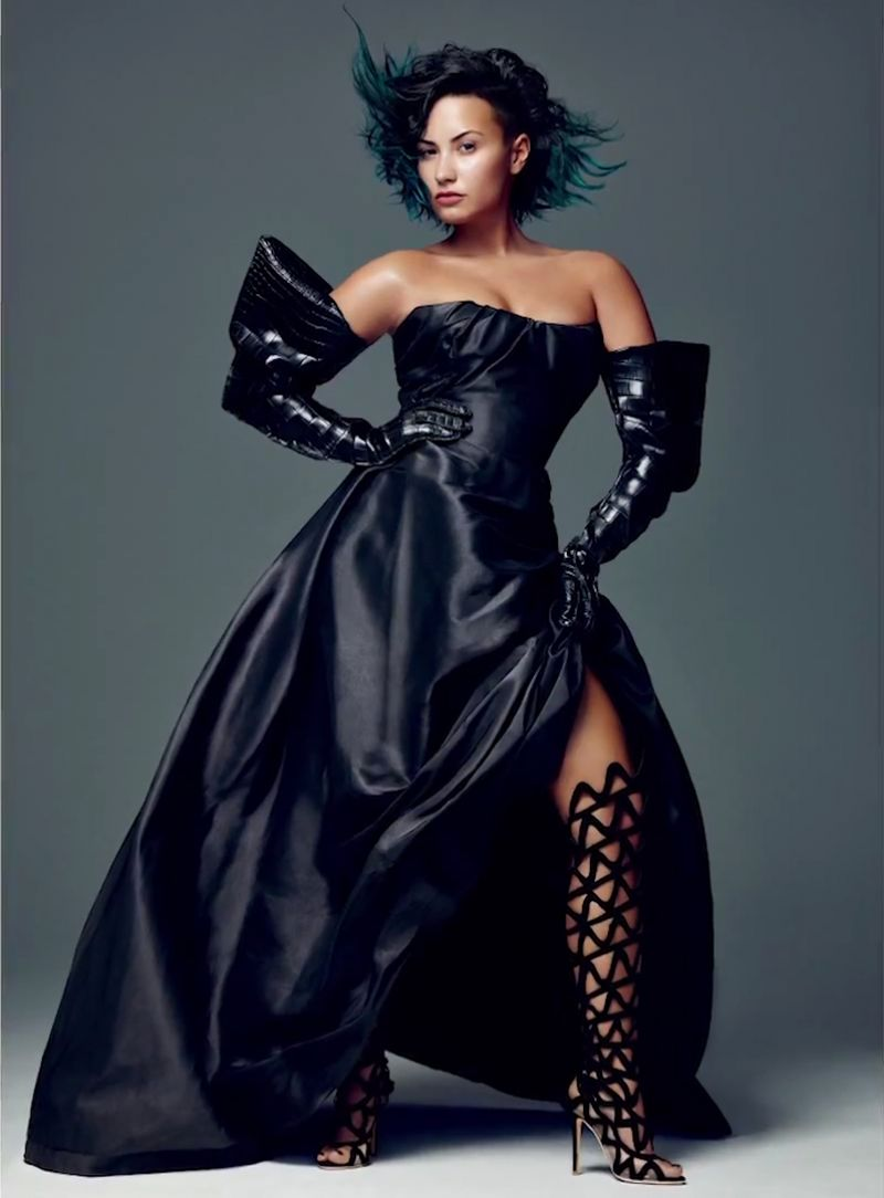 DEMI LOVATO in Allure Magazine, Decembar 2014 Issue