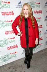 ELIZABETH STANTON at 2014 Hollywood Christmas Parade in Hollywood