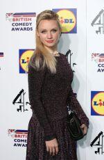 EMILY BERRINGTON at 2014 British Comedy Awards in London